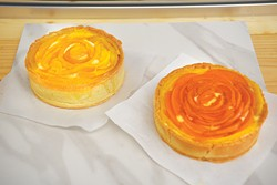 Mango and apricot tarts are among baker Sara Miller's favorites at her new bakery, La Confection. - JACOB THREADGILL