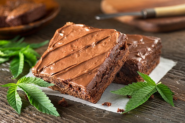 Marijuana consumed in edibles results in a more powerful and long-lasting effect. - | PHOTO BIGSTOCKPHOTO.COM