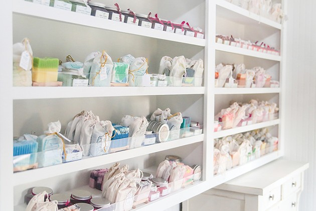 Local Lather Laboratory & Soap Shop features handcrafted bath and beauty products. - LOCAL LATHER LABORATORY & SOAP SHOP / PROVIDED