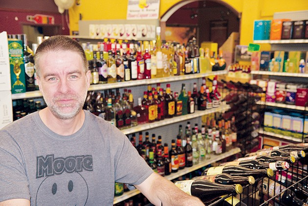 Bryan Kerr is owner of Moore Liquor and president of Retail Liquor Association of Oklahoma. - JACOB THREADGILL