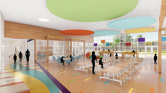 A rendering of an interior family room inside the new Positive Tomorrows facility. - POSITIVE TOMORROWS / PROVIDED
