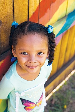 Positive Tomorrow's student Maleiyah poses for a photo. The elementary school currently serves about 75 students each semester. - POSITIVE TOMORROWS / PROVIDED