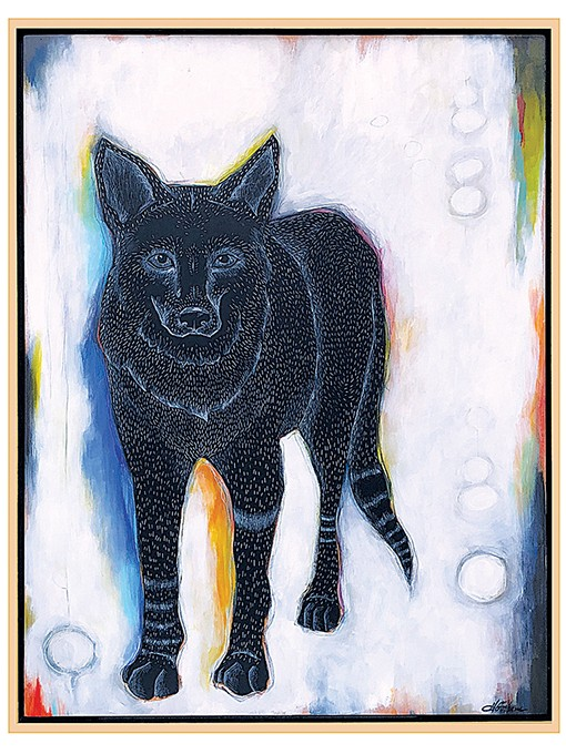 """Coyote"" by Heather Gorham - PROVIDED"