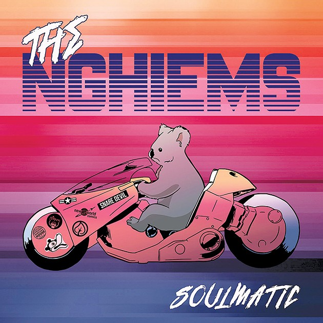 Soulmatic was released online earlier this year, but a limited-edition vinyl run will be available Friday. - MIKE ALLEN / PROVIDED