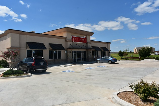 The full-sized Johnnie's Charcoal Broiler opened in July at 2305 S. Telephone Road in Moore. - PROVIDED