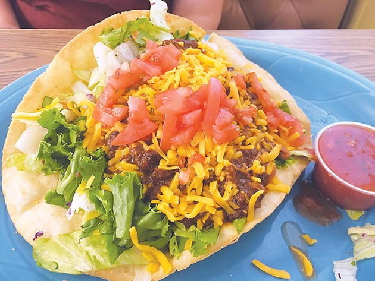 Taco salad - JACOB THREADGILL