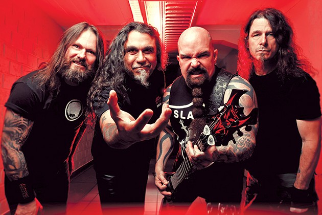 Slayer makes what might be its final Oklahoma City stop Aug. 16 at The Zoo Amphitheatre supported by Lamb of God, Anthrax, Napalm Death and Testament. - PROVIDED