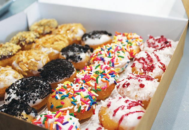 Sweet Mini's Donut Company offers 20 varieties of toppings, nine icings and three doughnut base flavors. - PROVIDED