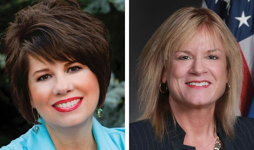 Cathy Costello and Leslie Osborn - PROVIDED