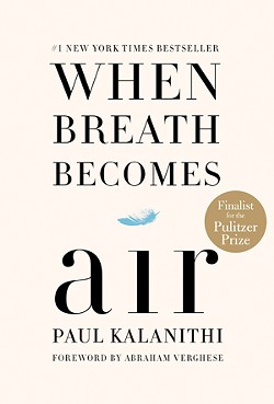 When Breath Becomes Air by Paul Kalanithi - PROVIDED