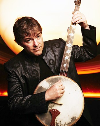 Legendary banjo player Béla Fleck headlines this year's Banjo Fest concert. - AMERICAN BANJO MUSEUM / PROVIDED