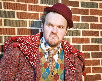 Daniel Scofield plays the title character in Rigoletto. - WENDY MUTZ PHOTOGRAPHY / PROVIDED