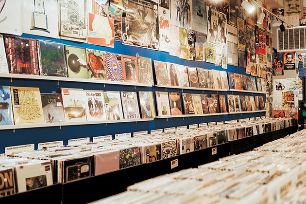 Guestroom Records carries thousands of new and used vinyl releases at its three locations. - ALEXA ACE