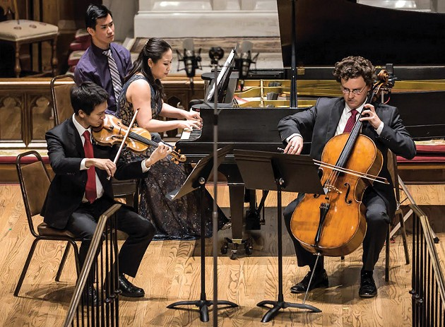 Jesus Castro-Bilbi performs with Brightmusic Chamber ensemble, which begins its 2018-2019 season on Sept. 25. - MICHAEL ANDERSON /  PERFORMING ARTS PHOTOGRAPHY / PROVIDED
