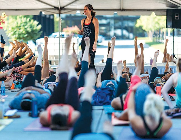 YogaFest 2018 features classes focused on mindfulness. - PROVIDED