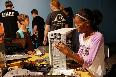 Last year's Tinkerfest set a single-day attendance record with more than 7,400 visitors to the museum. - PROVIDED