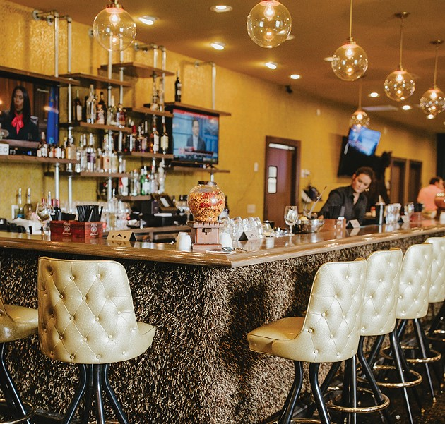 The decor at Ned's Starlite Lounge is meant to invoke a 1960s setting in a modern context. - ALEXA ACE