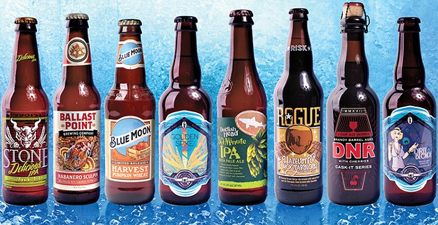 High-point craft beer will be available in supermarkets and convenience stores effective Oct. 1. - GAZETTE / FILE