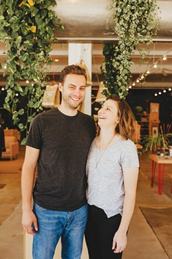 Justin and Audrey Falk started Shop Good with a used printer in a barn in 2009. - ALEXA ACE