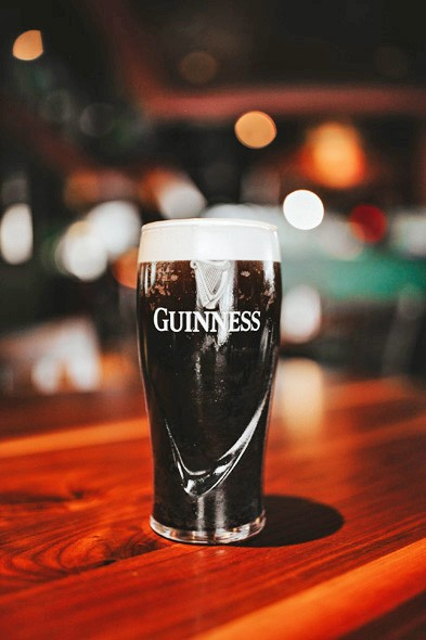 Guinness Stout is decanted perfectly at Matty McMillen's Irish Pub. - ALEXA ACE
