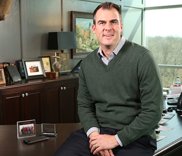 Republican Kevin Stitt is running for governor. - PROVIDED