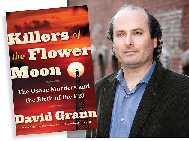 David Grann, author of Killers of the Flower Moon, is one of the featured authors at the inaugural Oklahoma Book Festival. - PROVIDED