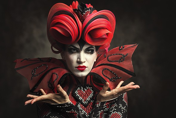 Angelina Sansone played the Red Queen in the Kansas City Ballet production of Alice (in Wonderland). - KENNY JOHNSON / PROVIDED