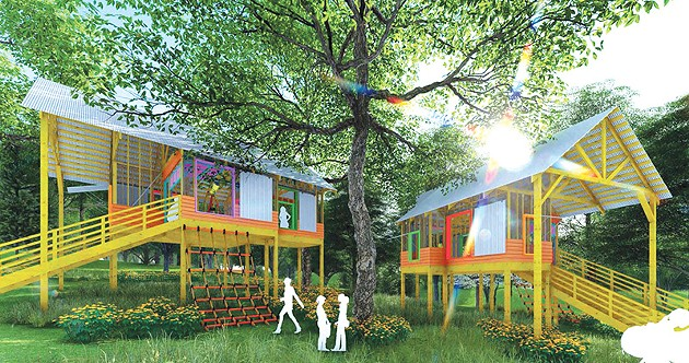 Girl Scouts Western Oklahoma's new camp will feature a treehouse in addition to spaces for STEM-related activities. - REES /  GIRL SCOUTS WESTERN OKLAHOMA / PROVIDED