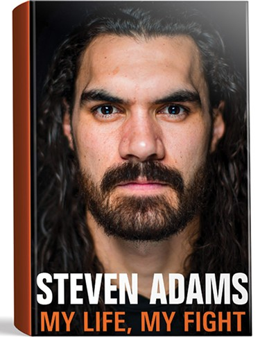 My Life, My Fight by Steven Adams - IMAGE HACHETTE / PENGUIN / PROVIDED