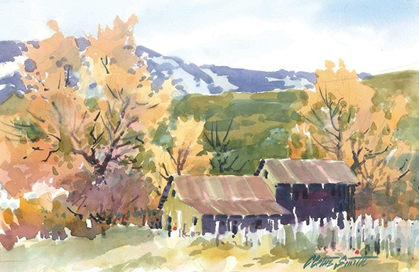 """""""Watercolor"""" by Cletus Smith - THE DEPOT GALLERY / PROVIDED"""