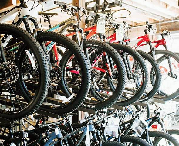 Schlegel Bicycles in Automobile Alley sells a variety of bikes and accessories. - ALEXA ACE
