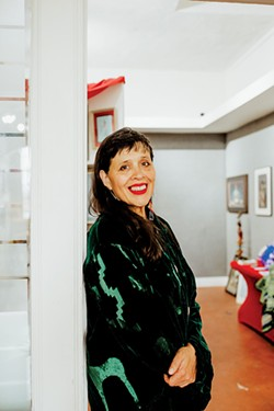 Dana Tiger, the daughter of famous artist Jerome Tiger, has been making art since she was a toddler. - ALEXA ACE