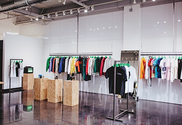 1032 Space sells a variety of brands such as Aimé Leon Dore, Helmut Lang, John Elliott and Pleasures. - ALEXA ACE