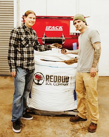 Chris Brady and John Martin own Redbud Soil Company - ALEXA ACE