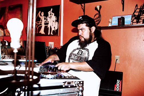 Nymasis is the DJ for Art of Rap, a monthly hip-hop competition held at Hubbly Bubbly Hookah & Café. - ALEXA ACE