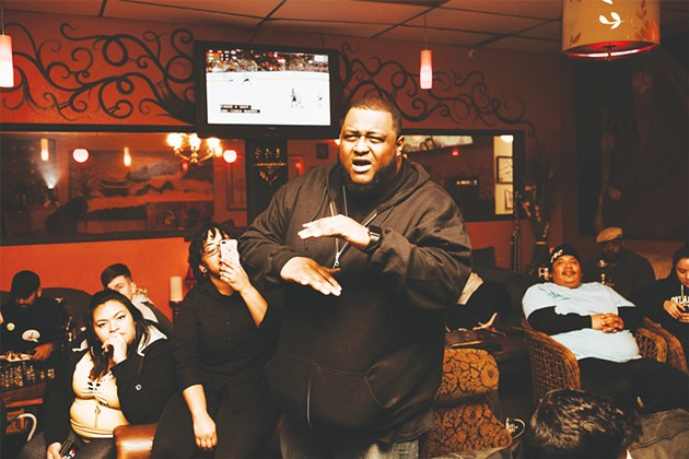 Jim Conway organizes and hosts the Art of Rap, Heart of Hip-Hop and King of Kings events. - ALEXA ACE