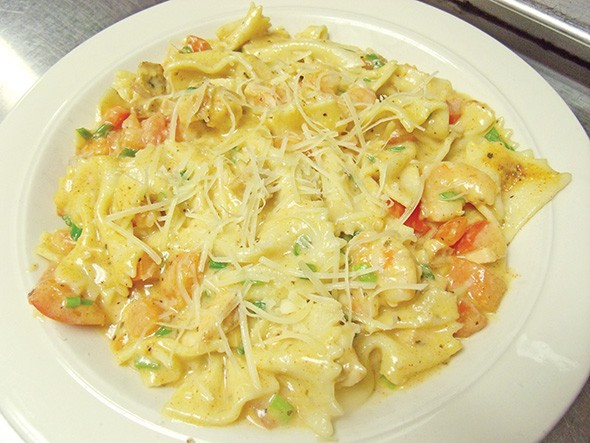 Cajun bow tie pasta from Belle Isle Restaurant & Brewery - THE HOUSE / PROVIDED