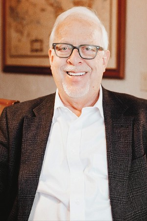 Mike Dover has lived in Ward 2 since 1982 and plans to be a full-time city councilman if elected. - ALEXA ACE