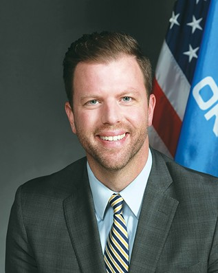 Rep. Jason Dunnington has co-authored legislation that would provide post-conviction relief to those convicted of marijuana possession before the passage of SQ780. - OKLAHOMA HOUSE OF REPRESENTATIVES / PROVIDED