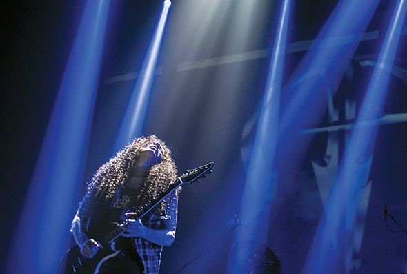 Metal guitarist Marty Friedman is scheduled to perform with his live band Monday at 89th Street — OKC, 8911 N. Western Ave. - MARIA DEBIASSI / PROVIDED