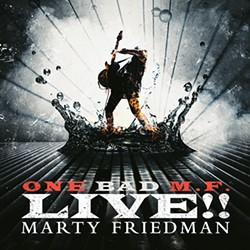 Friedman's double album One Bad M.F. Live!! was released in 2018. - PROVIDED