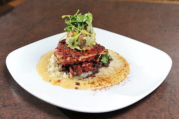 Santa Fe chicken is a great dinner option at Cafe 501. - JACOB THREADGILL
