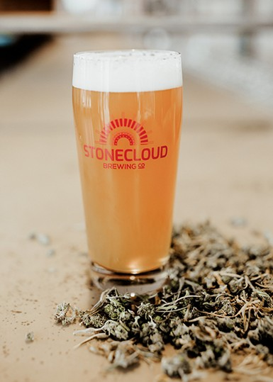 Stonecloud Brewing Co. collaborated with Redbud Soil Company to create Hemptation. - ALEXA ACE