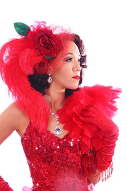 Raven Rose is an award-winning burlesque performer who began her career in burlesque after transitioning from professional cheerleading. - ADÈLE WOLF / PROVIDED