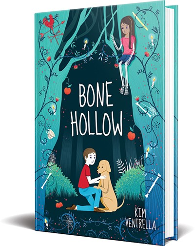 Bone Hollow, Ventrella's latest novel, is available Feb. 26 from Scholastic Press. - PROVIDED