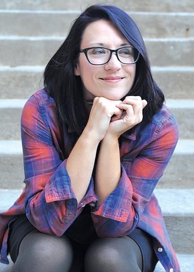 Oklahoma City-based author Kim Ventrella writes spooky books for children in grades 3-7. - PROVIDED