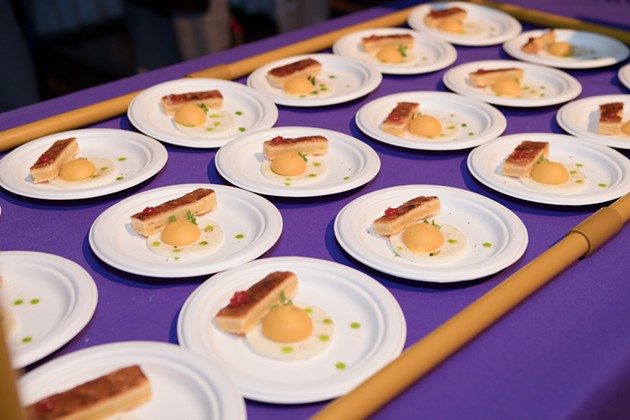 OKCMOA's Omelette Party features egg dishes made by local chefs. - OKLAHOMA CITY MUSEUM OF ART / PROVIDED