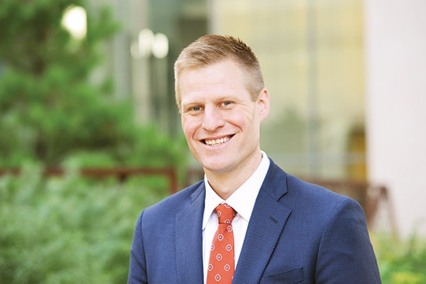 Attorney Evan Way has closely examined how companies are dealing with legal medical marijuana among their employees. - CROWE & DUNLEVY / PROVIDED