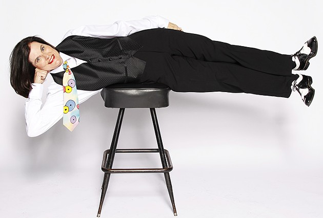 Standup comic Paula Poundstone, a frequent guest on the National Public Radio quiz show Wait Wait ... Don't Tell Me!, performs 8 p.m. Saturday at Oklahoma City Community College's Visual and Performing Arts Center Theater. - MICHAEL SCHWARTZ / PROVIDED