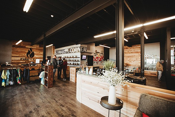 Fire Leaf's Stockyards City location includes a dispensary, apparel, a grow house and a medical marijuana kitchen. - ALEXA ACE